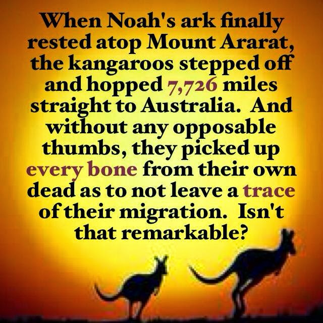 Does anyone know any books that mock the story of Adam and Eve or Noah?