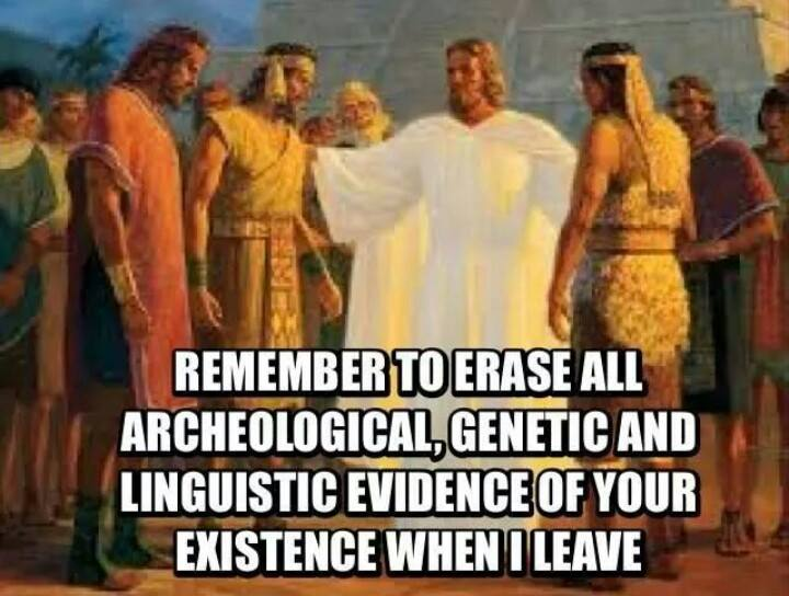 Erase all evidence - Lamanites